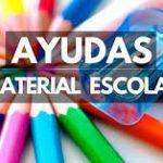 AYUDAS MATERIAL ESCOLAR BÁSICO, LIBROS Y UNIFORMES